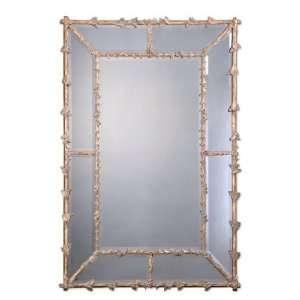 Lakin Decorative Antiqued Gold Mirror