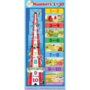to 10 (Early Learning Blocks/Bk Tower) (9781921847493): Alicat: Books