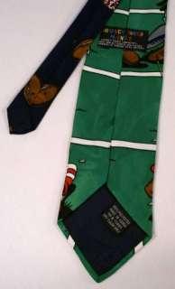 Looney Tunes Daffy Bugs Taz Football Novelty Neck Tie