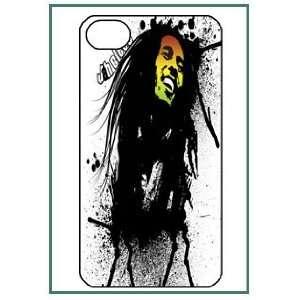Bob Marley iPhone 4 iPhone4 Black Designer Hard Case Cover