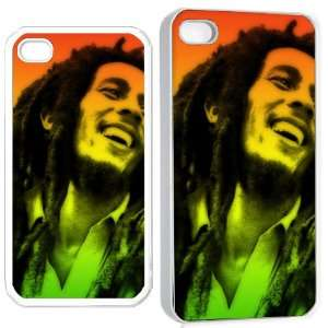 bob marley2 iPhone Hard Case 4s White Cell Phones