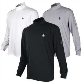 New Men Golf Shirts Apparel clothes Pullover Mock Neck Thermal Sports