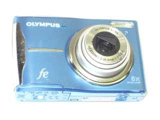 AS IS OLYMPUS FE 46 12MP 5X OPTICAL ZOOM DIGITAL CAMERA