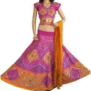 Dress Designer Games on Lengha Choli Skirt Lehenga Ghagra Chaniya Belly Dance L  Toys   Games