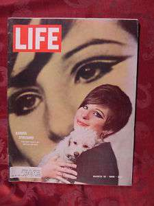 RARE LIFE March 18 1966 3/18/66 BARBRA STREISAND +++