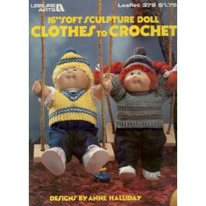 Clothes to Crochet, 16 Soft Sculpture Doll, Leisure Arts