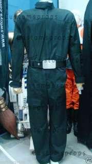 Star Wars Prop Tie Fighter Pilot Flightsuit+belt+gloves