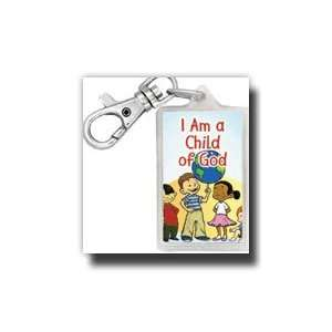 Theme Bag Tag  I Am a Child of God, New Design  Keychain  Use This Tag
