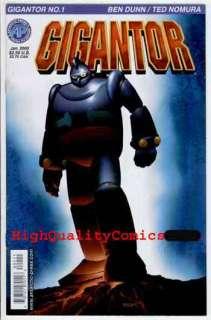 GIGANTOR #1, Space Age Robot,2000,Manja, Ben Dunn, VFN+