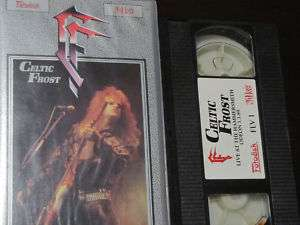 Celtic Frost live at Hammersmith Odeon VHS