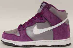 best service 8e990 a68c4 ... Women Nike Dunk High 342257 501 Bold Bery White Purple ...