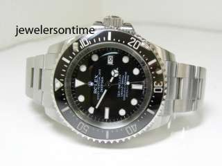 2009 Mint Rolex Deep Sea Sea Dweller 43mm Case. ref# 116660 MSRP: $