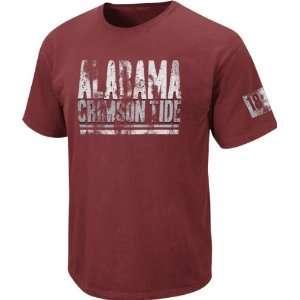 Alabama Crimson Tide Boxed Up Distressed Pig Dye Tee