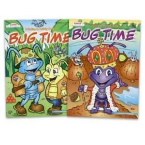Coloring Book 96 Page Bug Time Case Pack 80 Everything