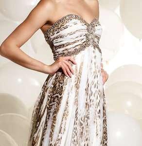 P620 TERANI prom dress *PRICE MATCH GUARANTEE* LONG IVORY gown 0 2 4 6
