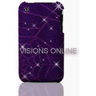 Visions Slim Iphone Hard Case Back Cover Spider Web