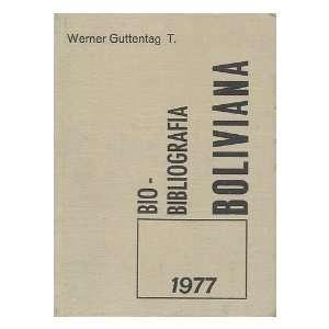 Bio bibliografi´a boliviana del ano 1977  con