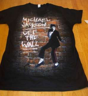 WOMENS TEEN MICHAEL JACKSON THE WALL T shirt XL NEW