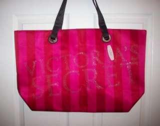 Victorias Secret 2011 Black Friday Pink Stripe Beach Tote Bag