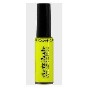 Art Club Nail Art Color, Neon Yellow NA54 .25 OZ. Beauty