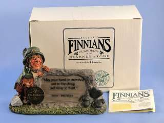 FINNIANS Irish Proverb Friendship Guardians of Blarney Stone