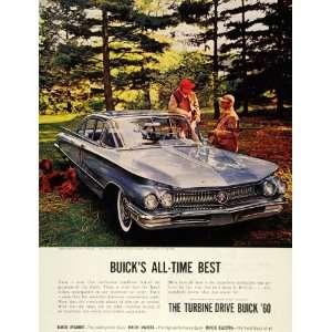 1959 Ad Deer Buck Hunting Buick 1960 Turbine Drive Car