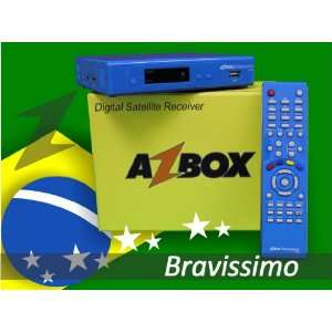 Azbox Bravissimo Twin HD   BLUE Electronics