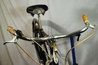 Vintage 1964 Schwinn Corvette middleweight bicycle bike black Sturmey