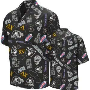 Oakland Raiders Black Tailgate Party Shirt
