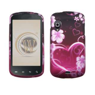 FOR SAMSUNG Stratosphere VERIZON CELL PHONE BLACK PINK H HARD COVER