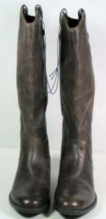 womens MERONA leather brown KASIA Boots sz 8.5 New riding