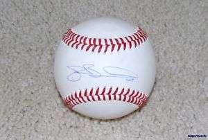 JOE BOROWSKI Signed Rawlings Baseball CLEVELAND INDIANS