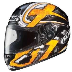 HJC CL 15 Shock Full Face Motorcycle Helmet MC 3 Yellow Small S 914