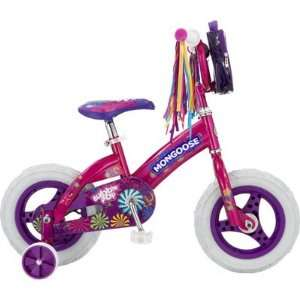 Mongoose Bubble Pop Girls 12 Bicycle: Sports & Outdoors