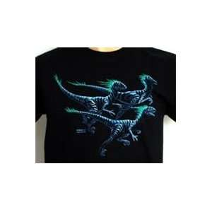 Dinosaur Shirt Deinomight Glow in the dark Shirt Sports
