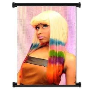 Nicki Minaj Rapper Fabric Wall Scroll Poster (16x23