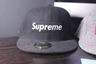 Supreme Box Logo Fitted Cap 7 1/8 NEW Bathing Ape Bape Stussy