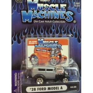 Muscle Machines Detailed Diecast 1928 Ford Model A   Smoke