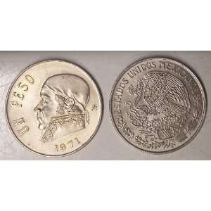 1971 Mexico Peso Coin Everything Else