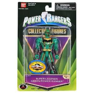 Power Rangers Super Legends Green Power Ranger: Toys & Games