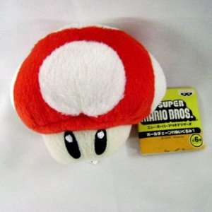 SUPER MARIO BROS  Red Mushroom Cellphone holder Toys & Games