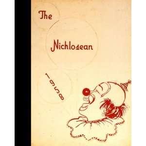 Reprint) 1958 Yearbook Nicholas County High School, Summersville