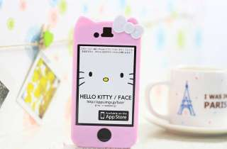 New Hello Kitty Cute Lovely hard Case Cover Character for iPhone 4 4S