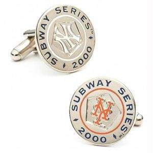 Cufflinks New York Yankees MLB Logod Special Edition Subway Series