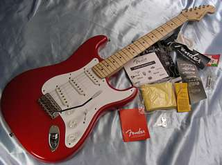 Eric Clapton Signature Stratocaster American Strat USA Red Torino Red