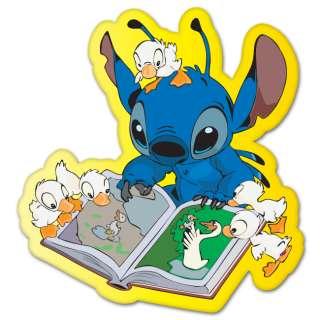 Lilo and Stitch cartoon car bumper sticker 4 x 4