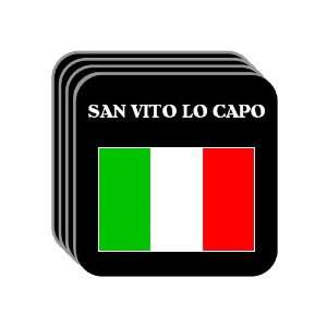 Italy   SAN VITO LO CAPO Set of 4 Mini Mousepad Coasters