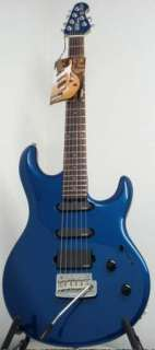 NEW Ernie Ball MusicMan Luke Guitar w Case Blue Pearl