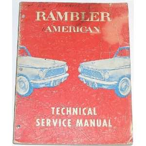 1961 Rambler American Technical Service Manual: American