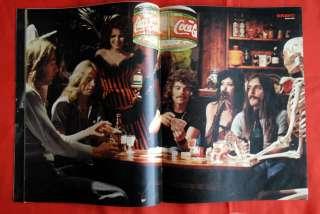 BLACK SABBATH GEEZER BUTLER AC/DC 77' BRAVO MAGAZINE